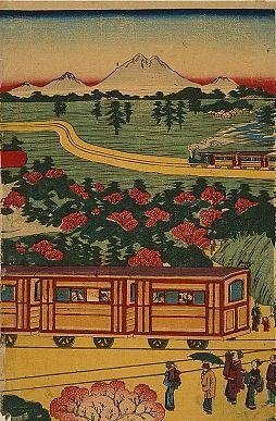 View of Ueno-Nakasendo railway from Ueno station2