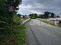 View of Van Metre Ford Bridge from defunct road 01.jpg