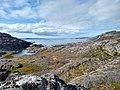 View of ocean from Lake Tasersuaq hike Qaqortoq Greenland.jpg