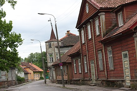 The innerland town of Viljandi (Estonia) Viljandi, Estonia (7182836211).jpg