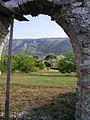 Villa Magna casale from monastery.JPG