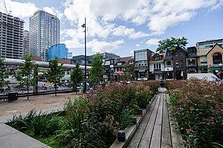Yorkville, Toronto Neighbourhood in Toronto, Ontario, Canada