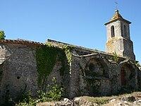 Villarzel-Cabardès, Église Saint-Pierre-es-Liens de Villarlong 3.jpg