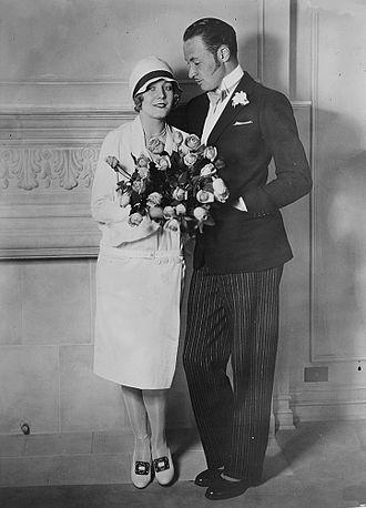 Rod La Rocque - Rod La Rocque and Vilma Bánky in April 1927.