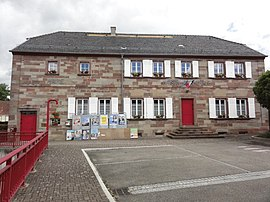 The town hall in Vilsberg
