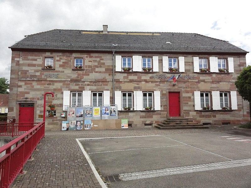 Vilsberg (Moselle) mairie - maison communale