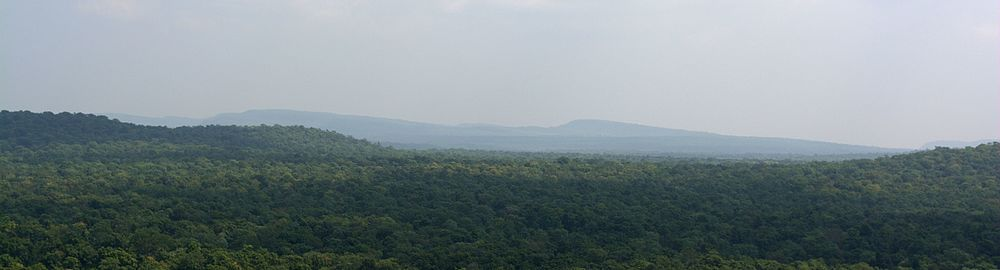 Vindhyas as seen from Bhimbetka