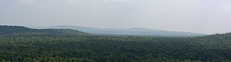 Vindhya Range - Image: Vindhyas as seen from Bhimbetka