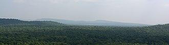 Vindhya Range - Image: Vindhyas as seen from Bhimbetka