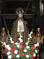 Virgen de la Encina vestida de luto en Semana Santa. Macotera.JPG