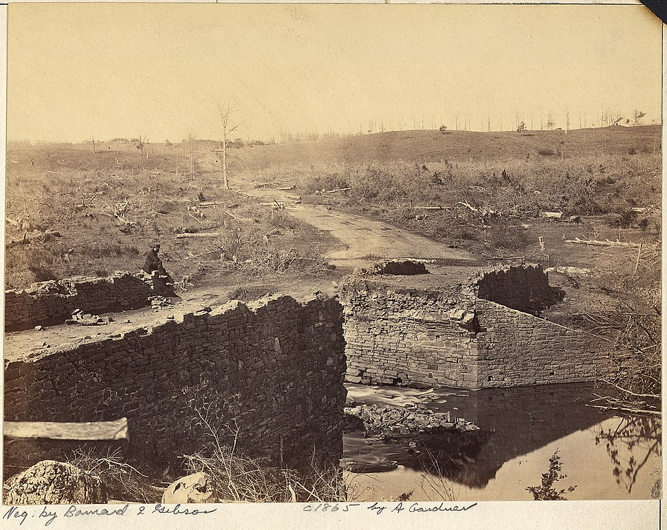 Virginia, Bull Run. Ruins of Stone Bridge - NARA - 533281