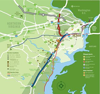 Northern Virginia - Northern Virginia megaprojects