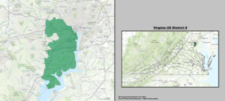 Virginias 8th congressional district