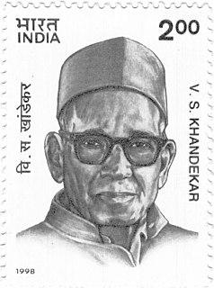 Vishnu Sakharam Khandekar Indian writer