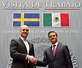 Visita de Trabajo del Primer Ministro del Reino de Suecia, Fredrik Reinfeldt. (9974123314).jpg
