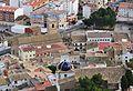 Vista cap a l'església i l'ermita des del castell, Castalla.jpg