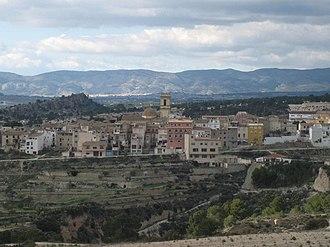 Tibi, Alicante - Image: Vista de Tibi