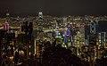 Vista del Puerto de Victoria desde la Cumbre Victoria, Hong Kong, 2013-08-09, DD 11.JPG