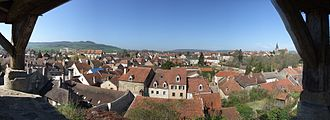 Vitteaux - A general view of Vitteaux