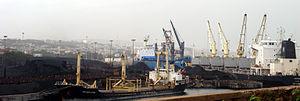 Visakhapatnam Port - A Vizag harbour view