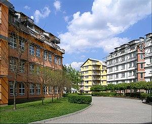 Veleslavín - Hvězda apartment buildings designed by Vlado Milunić.