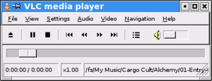 A screenshot of VLC Media Player, running in t...