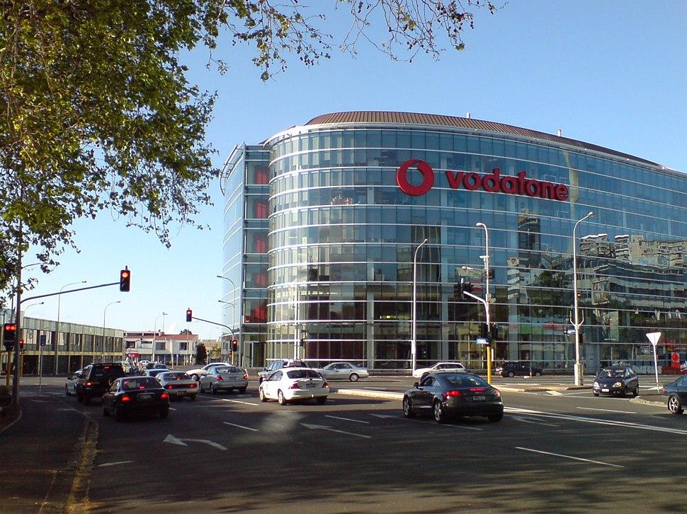Vodafone Building Near Victoria Park