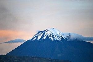 Tungurahua - View from Riobamba  (September 2011)