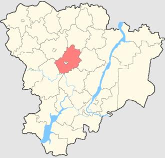 Frolovsky District - Image: Volgogradskaya oblast Frolovsky rayon