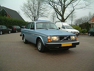 Volvo 200 Series - 1979-1980 Euro-spec. 244 GLE sedan