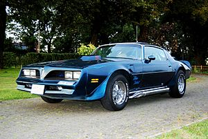 Kenny Howard - Von Dutch Blue Velvet Pontiac Firebird