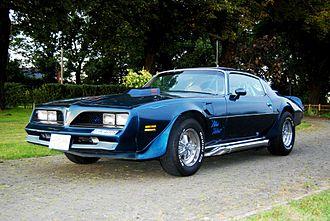 Kenny Howard - Von Dutch Blue Velvet Pontiac Firebird