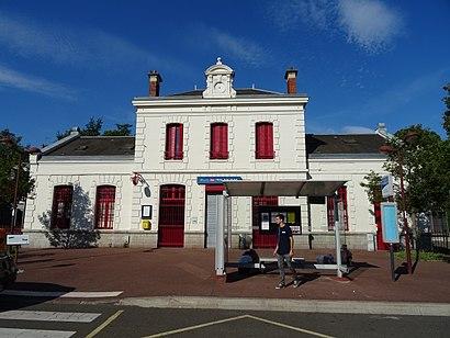 Comment Aller A Gare De Triel Sur Seine A Triel Sur Seine En Train