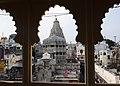 Vue sur le temple Jagdish à Udaipur.jpg