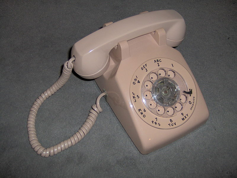Mysterious device known as a dial phone