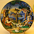 WLANL - MicheleLovesArt - Museum Boijmans Van Beuningen - Istoriato schotel, Zeus, Hera en Amor.jpg
