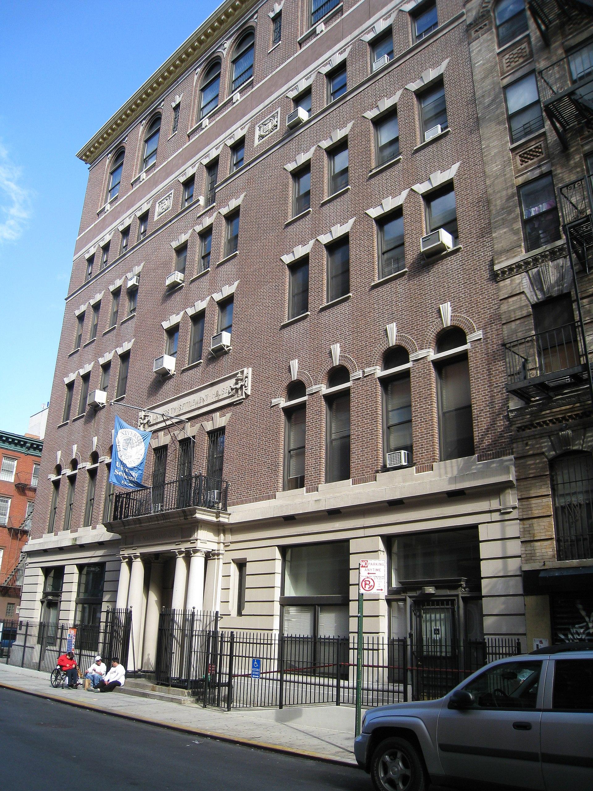 University Settlement Society Of New York Wikipedia