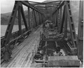 """WWII, Europe, Germany, """"U.S. First Army at Remagen Bridge before four hours before it collapsed into the Rhine"""" - NARA - 195341.tif"""