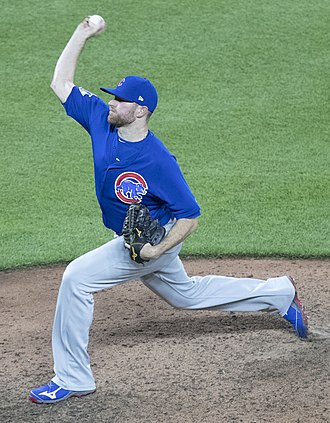 Wade Davis (baseball) - Wade Davis with the Chicago Cubs in 2017.