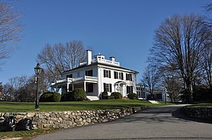 National Register of Historic Places listings in Wakefield, Massachusetts - Image: Wakefield MA Beebe Homestead
