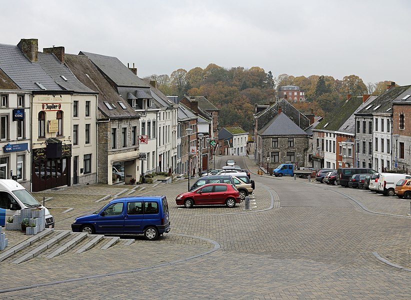 Walcourt (Belgium): the Grand'Place