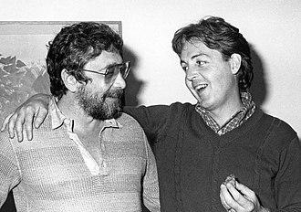 Walter Yetnikoff - Walter Yetnikoff and Sir Paul McCartney