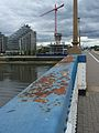 Wandsworth Bridge railing.JPG