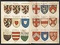 Wapenboek Beyeren (armorial) - KB79K21 - folios 021v (left) and 022r (right).jpg