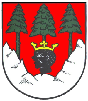 Mittenwald - Image: Wappen Mittenwald