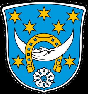 Roßdorf - Image: Wappen Roßdorf (bei Darmstadt)