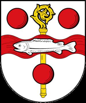 Fischbach, Kaiserslautern - Image: Wappen von Fischbach (bei Kaiserslautern)