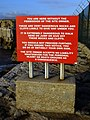 Warning sign, Portland Bill - geograph.org.uk - 1099935.jpg