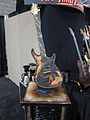 Warrior Crown of Thorns guitar, 2010 Summer NAMM.jpg