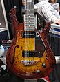 Warrior guitar, Charlie Christian + P90 PU, 2010 Summer NAMM.jpg